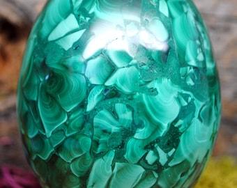Malachite Crystal Egg -  1179.58