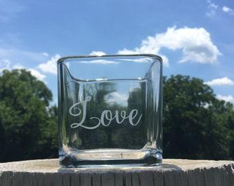 candleholder Love