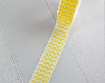 Yellow Zig Zag Washi Tape