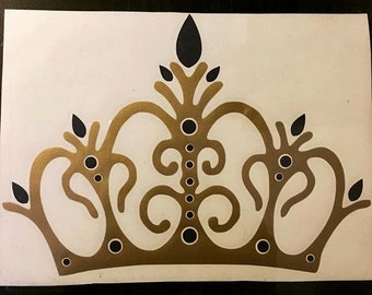 Crown Vinyl Decal