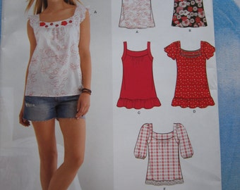 New Look 6026 Top Sewing Pattern 4-16