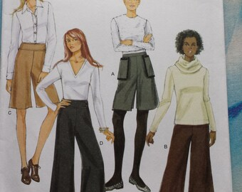 Butterick 5681 10-18 Culottes