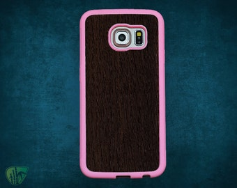Samsung S6 Edge cases rubber wood