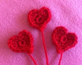 Crochet Heart appliqué