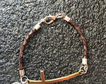 Bullet Cross Bracelet