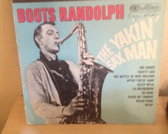 Boots Randolph : Record Album