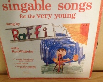 """Children's  Music """"Raffi-Singable Songs for the very young"""""""