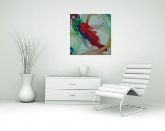SC-art - abstract & modern / acrylic pictures painting / 60 x 60 cm