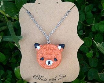 Oreo Fox Necklace
