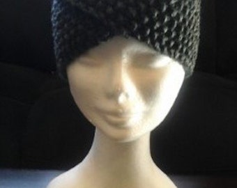 Hand Knitted Retro Headband