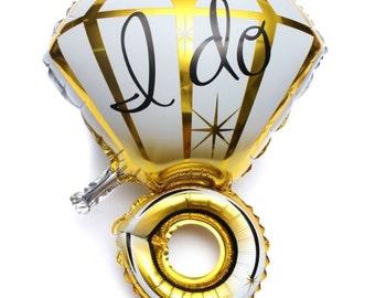 I DO ballon ring