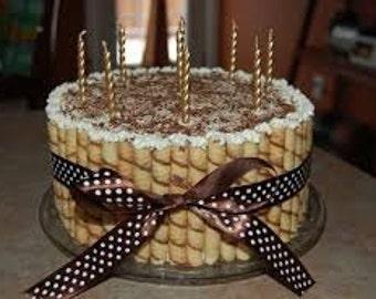Kosher Ribbon Cake