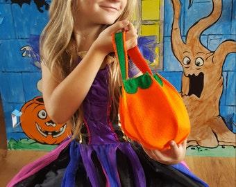 Pumpkin Trick or Treat bag - Halloween - Children's bags - children's accessories - bags and accessories