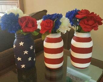 Stars and Stripes: Patriotic Jars
