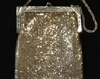 Whiting and Davis Mesh Handbag Authentic Vintage Mesh Bag