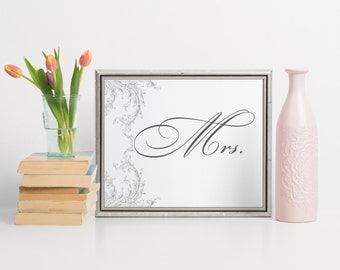 Wedding Chair Signs, Mr And Mrs Signs, Mr And Mrs Chair Signs, Wedding Chair Sign, Mr And Mrs Sign, Mr Mr Signs, Mrs Mrs Signs