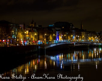 River Liffey in Dublin, Ireland