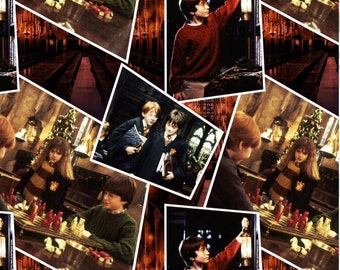 IN Stock Multi Harry Potter Scenes Digitally Printed