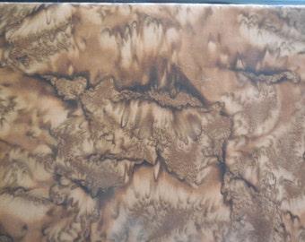 Brown batik by Anthology