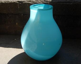 Blue Bowl Vase
