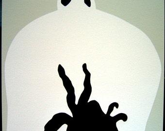 "John Baldessari ""Sediment: Throat, Nose and Spide"" (SIGNED Limited Ed. print)"
