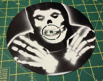 "Misfits - Custom 7"" EP Stencil Wall Art"