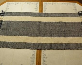 Woven Alpaca/Cotton Table Runner