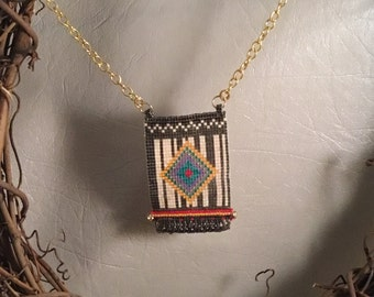 Navajo pattern Necklace