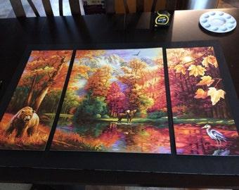 Beautiful Autumn 3 Piece Scene