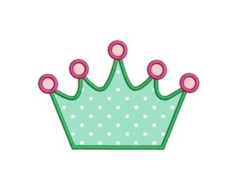crown applique