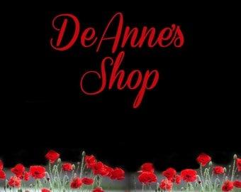 Shop Banner Set, Graphic Design, Cover Photo, Floral Banner Set, Banner Design, Premade Banner, Custom Banner, Red Poppie Banner