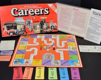 Careers Board Game 1979 Revised Edition Excellent Condition Complete by Parker Brothers