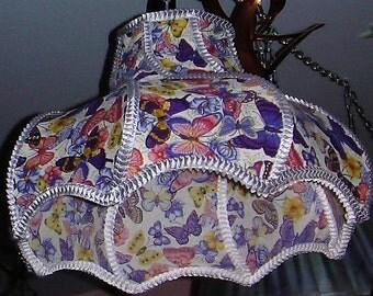 Butterfly Swirls lamp shade