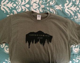 John Muir T-shirt