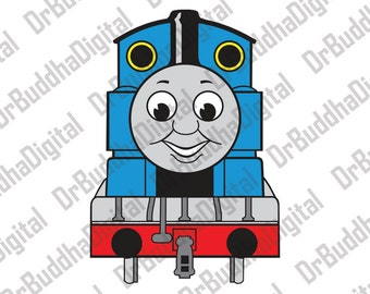 Sale! Thomas The Train SVG Collection - Thomas The Train DXF - Thomas The Train Clipart - SVG Files for Silhouette Cameo or Cricut