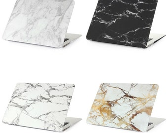 Fashion Marble Grain Matte Hard Case For Apple Mac MacBook Air 11 13 / Pro 13 15 / Retina 12