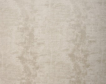 Drapery/Upholstery Jacquard Fabric Percy 565 Pearl By The Yard