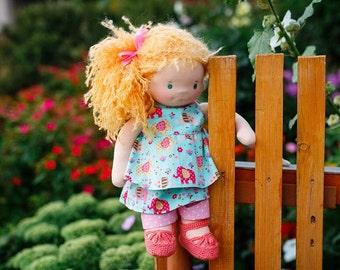 Waldorf doll Peppy