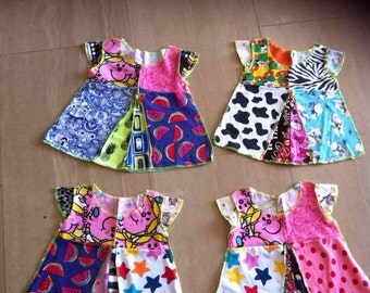 Toddler patchwork dress