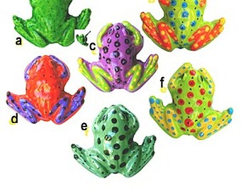 Cabinet Drawer Knobs Pulls FROG Knobs Tropical Decor FREE SHIPPING
