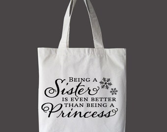 Sisters Are Awesome Eco Tote