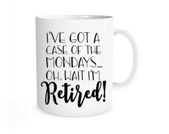 Retirement Gift, Retirement Mug, Funny Retirement Gifts, Retirement Gifts for Women, Retirement, Cute Retirement Gift, Coworker Gifts