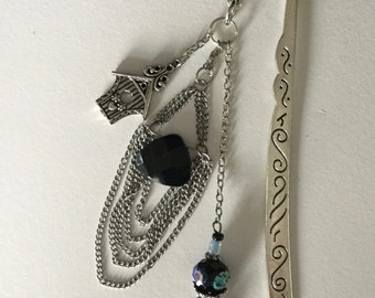 Antique Silver (plated) Hook Bookmark