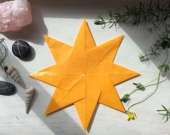 Kite Paper Window Star