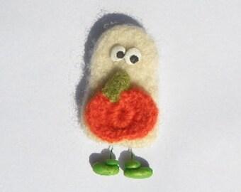 Ghost Wool Pin