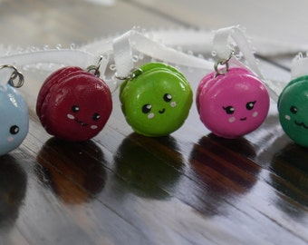 Macaroon Necklace - 5 Different Colors