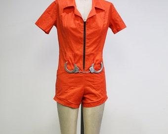 Prison Romper Costume