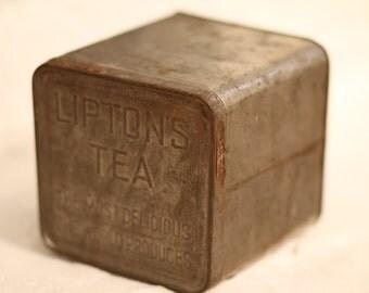 Vintage Lipton Tea Tin