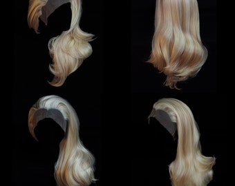 Foiled Blonde lace front wig