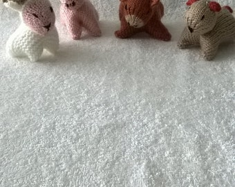 Hand Knitted Farm Animals